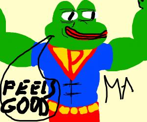 Superman LOVES memes