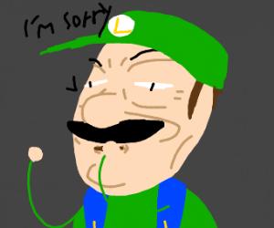 Luigi is sorry