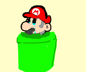 Old man Mario