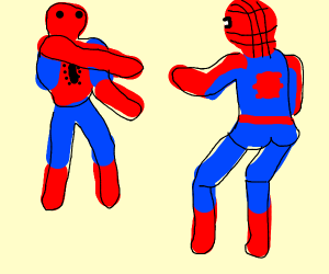 Spiderman vs. Bootleg Spiderman