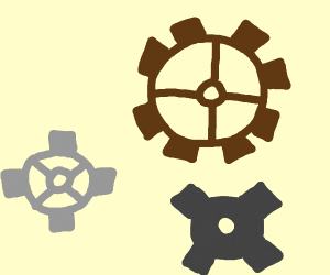 Cogs are all over the place