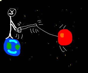 Reeling in Mars
