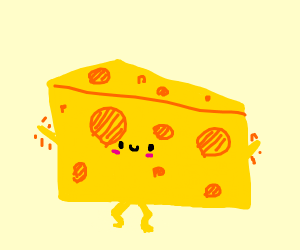dancing cheese