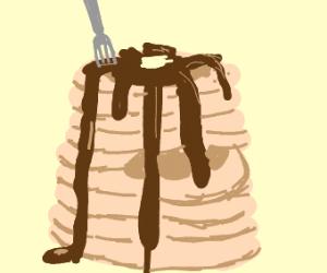 Pancakes Drawing