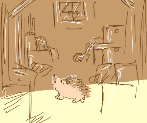 Hedgehog from the Attic