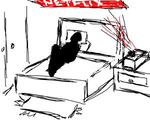 Watching Netflix Like A Boss