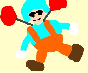 Wobbly ballon guy