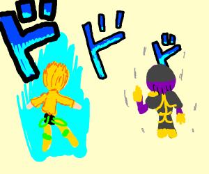 Thanos VS. Dio