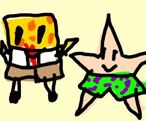 spongebob and patrick