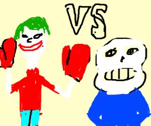 Joker&Morgana VS Sans