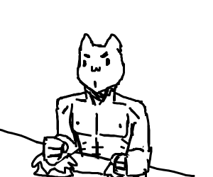 A Very...Muscular Bongo Cat