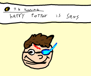 Harry Potter but Sans