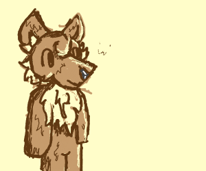 A fluffy furry :3