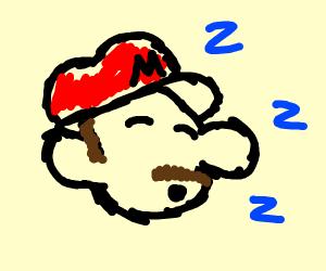 Sleepy Mario