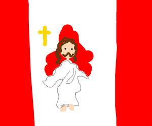 JESUS IS CANADIAN. CHANGE MY MIND.
