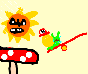 The sun is after you, snail! Run!
