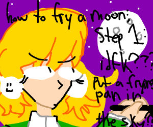 how to fry a moon
