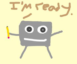 Doodlebob is Ready