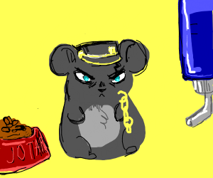 Jotaro but actually, he's a hamster