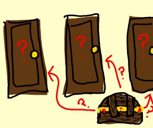 Which room has treasure?