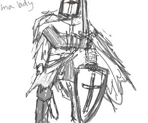 Polite knight
