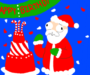 Santas birthday