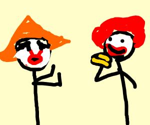 Pennywise vs Ronald McDonald