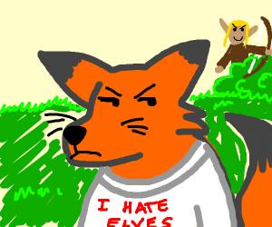 Fox hates those damned elves