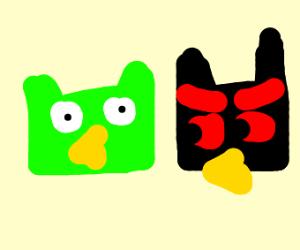 Duolingo and Evilingo