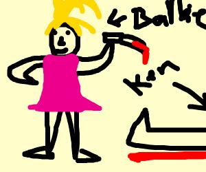 Barbie murdered Ken