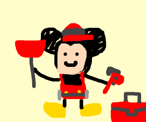 Mickey Mouse Plumber