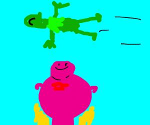 Kermit Flying