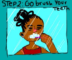 Step 1 : Wake up