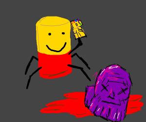 Despacito Spider Kills Thanos Drawception