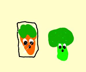 Broccoli having an identity crisis