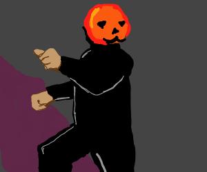 Kxvo Pumpkin Dancing Drawception