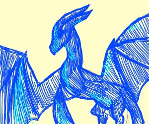 wild blue dragon