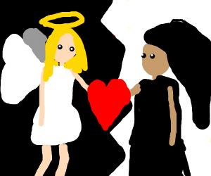 Death & an Angel in love