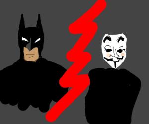 Batman vs Guy Fawkes: Ultimate Showdown