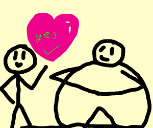 fAT StIIIckmaN aNNd tHin Stickman LOVE yes
