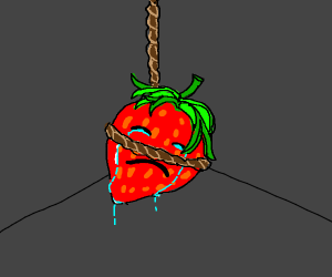 Strawberry commits suicide