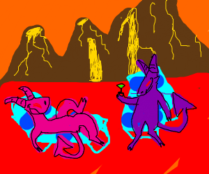 Demon enjoys a normal day in Hell