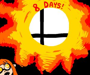 Supep Smash Ultimate Countdown