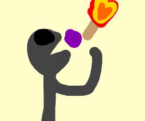 Eating Raisins with a Match