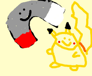 The magnet Pokemon's and Pikachu