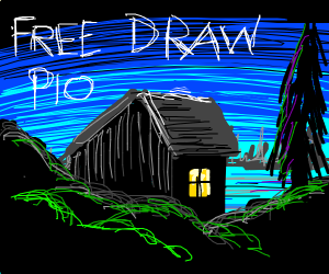 Free draw- pass it on
