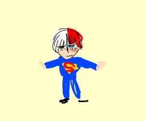 Todoroki is superman