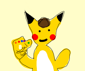 Detective Pikachu finds the Infinity Gauntlet
