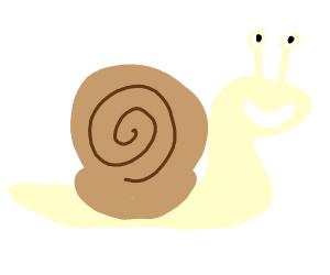 Kawaii snail