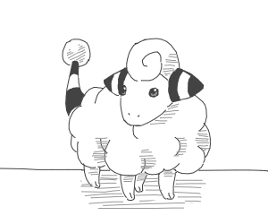 Mareep from pokemon